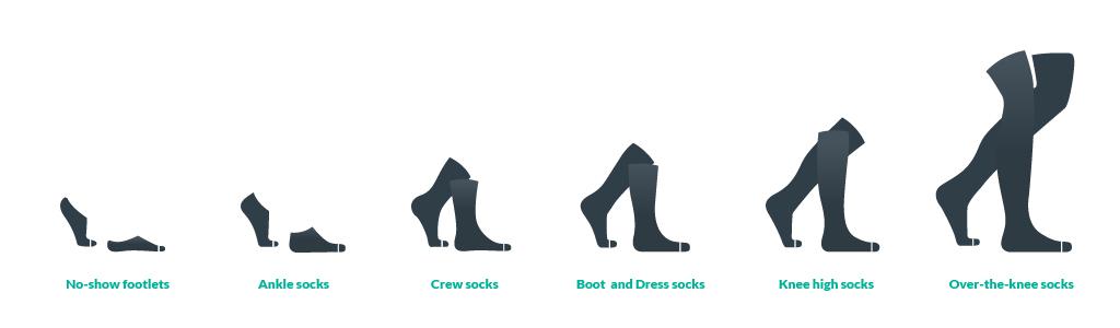 sock sizes chart
