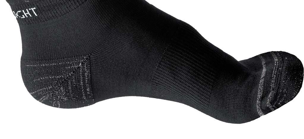 Silverlight Hiking Socks Detail