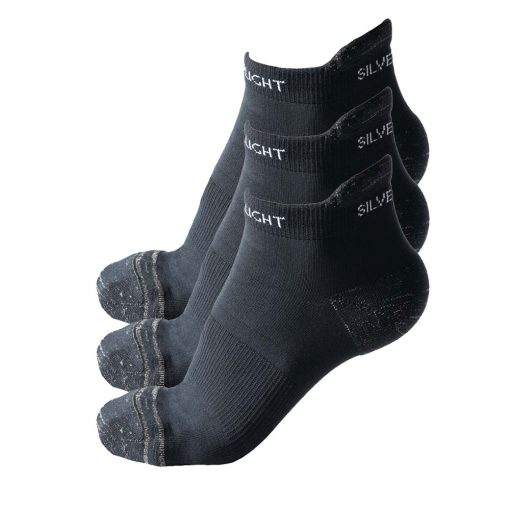 Silverlight Ankle Socks 3 Pack
