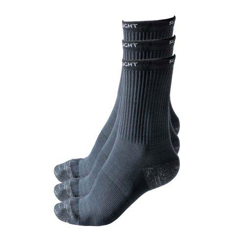 Silverlight Crew Socks 3 Pack