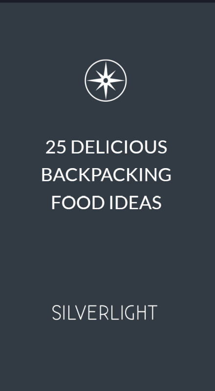25 delicious backpacking food ideas