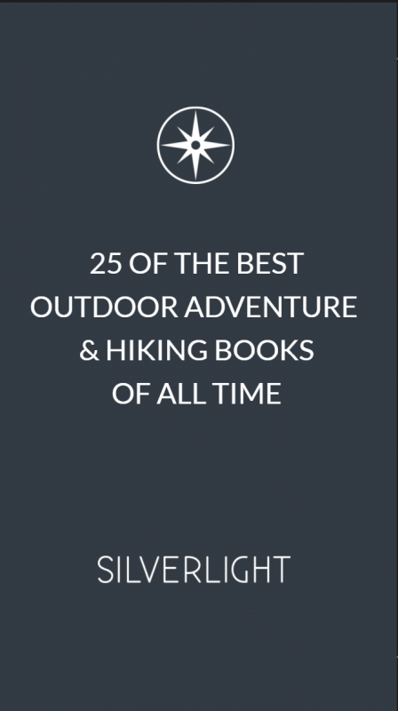 adventure & hiking books