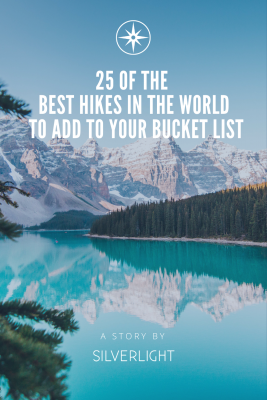 25 of the best hikes in the world to add to your bucked list