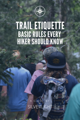 trail etiquette basic rules every hiker should know